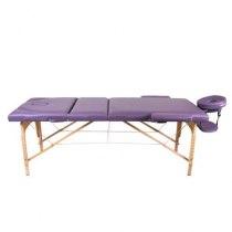 Массажный стол складной ArtOfChoise Ros (Фиолетовый) СНЯТО | Venko - Фото 20799