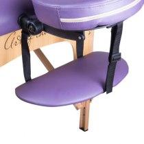 Массажный стол складной ArtOfChoise Ros (Фиолетовый) СНЯТО | Venko - Фото 20801