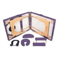 Массажный стол складной ArtOfChoise Ros (Фиолетовый) СНЯТО | Venko - Фото 20802
