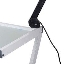 Косметологическая тележка White Viva 2 с креплением для лампы-лупы | Venko - Фото 22330