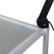 Косметологическая тележка White Viva 5 с креплением для лампы-лупы | Venko - Фото 22332