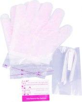 Перчатки с парафином готовые к использованию PWM Wax Kiss - Фото 22425