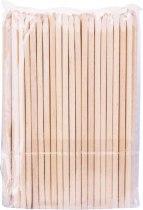 Деревянные палочки для маникюра 127*3.8 мм YM-517 100шт. | Venko