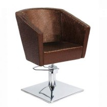 Кресло парикмахерское VM817 на гидравлике хром | Venko