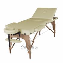 Массажный стол складной ArtOfChoise Sol (Светло-бежевый) | Venko