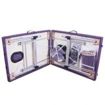 Массажный стол складной ArtOfChoise Dio (Фиолетовый) | Venko - Фото 23938
