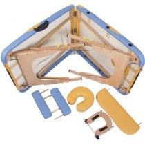 Массажный стол складной Miracle Plus yellow brown | Venko - Фото 24065