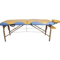 Массажный стол складной Miracle Plus Yellow/blue Life gear | Venko - Фото 24134