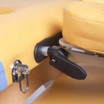 Массажный стол складной Miracle Plus Yellow/blue Life gear | Venko - Фото 24136