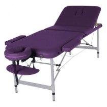 Массажный стол складной ArtOfChoise Leo (Фиолетовый) | Venko