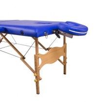 Масажний стіл складний Lotos Navy Blue, Life Gear | Venko - Фото 25017