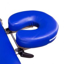 Масажний стіл складний Lotos Navy Blue, Life Gear | Venko - Фото 25018