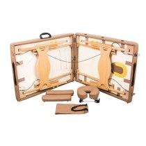 Массажный стол складной Lotos yellowish brown | Venko - Фото 25028