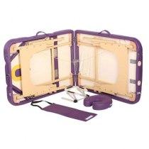 Массажный стол складной Elegance Purple | Venko - Фото 25056