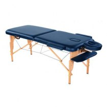 Массажный стол складной Miracle Plus Navy Blue, Life Gear - Фото 25074