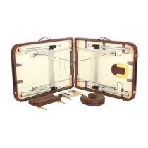 Массажный стол складной Fantom Yellow brown, Life Gear - Фото 25091