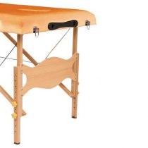 Массажный стол складной LifeGear Lotos Orange | Venko - Фото 25266