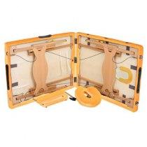 Массажный стол складной LifeGear Lotos Orange | Venko - Фото 25267
