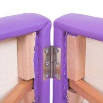 Массажный стол складной Expert New Tec (фиолетовый) | Venko - Фото 26645