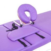 Массажный стол складной Expert New Tec (фиолетовый) | Venko - Фото 26647