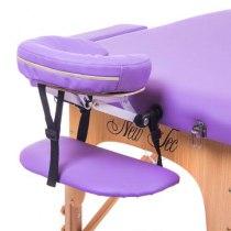 Массажный стол складной Expert New Tec (фиолетовый) | Venko - Фото 26648