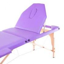 Массажный стол складной Expert New Tec (фиолетовый) | Venko - Фото 26649