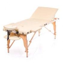 Массажный стол складной Flagman New Tec (бежевый) | Venko