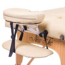 Масажний стіл складний Flagman New Tec (бежевий) | Venko - Фото 26653