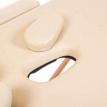 Масажний стіл складний Flagman New Tec (бежевий) | Venko - Фото 26656