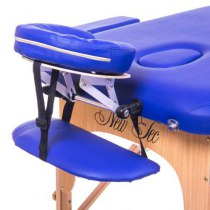 Массажный стол складной Aspect New Tec (темно-синий) - Фото 26678