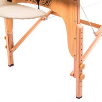 Массажный стол складной Maximum New Tec (бежевый) | Venko - Фото 26692