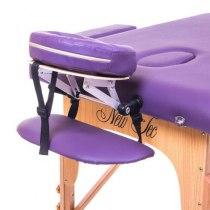 Массажный стол складной Premiere New Tec (фиолетовый) | Venko - Фото 26696