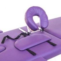 Массажный стол складной Premiere New Tec (фиолетовый) | Venko - Фото 26697
