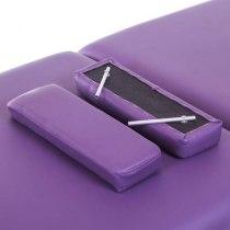 Массажный стол складной Premiere New Tec (фиолетовый) | Venko - Фото 26703