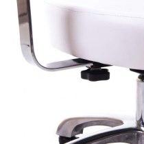 Стул для мастера педикюра СН-801L (белый) | Venko - Фото 26739
