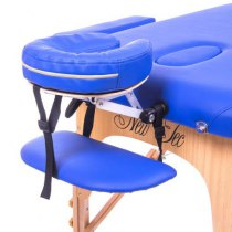 Массажный стол складной Victory New Tec (темно-синий) | Venko - Фото 26768