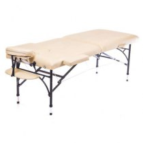 Массажный стол складной Diplomat New Tec (бежевый) | Venko