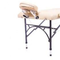 Массажный стол складной Diplomat New Tec (бежевый) | Venko - Фото 26779