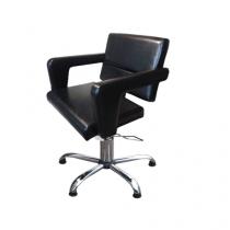 Кресло парикмахерское FLAMINGA на пневматике хром - Фото 27266