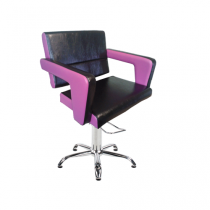 Кресло парикмахерское FLAMINGA на пневматике хром - Фото 27267