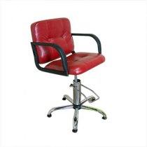 Кресло парикмахерское Chicago на пневматике хром | Venko