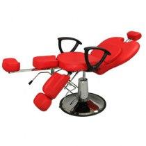 Педикюрное кресло на гидравлике S346 (красный) | Venko - Фото 27459