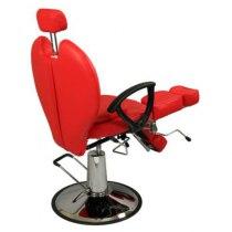 Педикюрное кресло на гидравлике S346 (красный) | Venko - Фото 27460