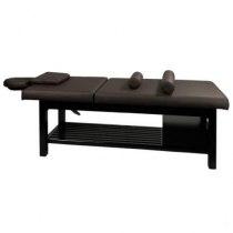 Массажный стол стационарный S855 (темно-коричневый) | Venko