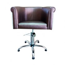 Кресло парикмахерское Obsession на гидравлике хром | Venko - Фото 27473