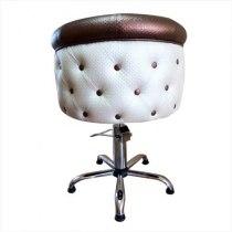 Кресло парикмахерское Obsession на гидравлике хром | Venko - Фото 27474