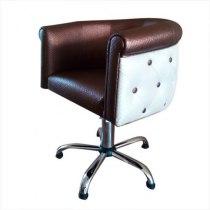 Крісло перукарське Obsession на гідравліці хром | Venko