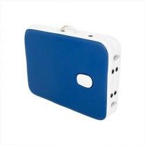 Складной массажный стол Holiday RelaxLine, синий/белый | Venko - Фото 27799