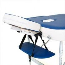 Складной массажный стол Holiday RelaxLine, синий/белый | Venko - Фото 27800