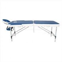 Складной массажный стол Holiday RelaxLine, синий/белый | Venko - Фото 27801